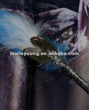 Sapphire turkey quill pen corporate antique items sale