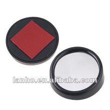 Black Round Car Blind Spot Side View Safety Mirror