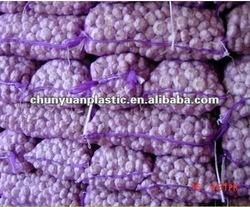 PP Knitted plastic raschel leno mesh bags