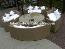 cheap rattan furniture patio dining set RD-071