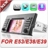 7 Inch 2 din Car Auto Radio GPS for Bmw E39 X5 E53