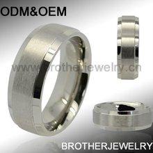 Elegant little finger rings 316 stainless steel High polished and Matt