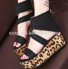 2012 new design woman shoe Leopard grain SHOES XT-SHP67