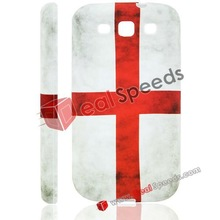 For Samsung Galaxy S3 Cover, England National Flag TPU Cover