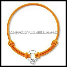 NEW! silver plated elastic bracelet for charm jewelry