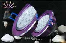 600LM 7W LED Ceiling Light/Conjoined Twins Lens/ Ceiling Led Lamp