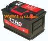 Maintenance Free Car batteries DIN70 MF 12V