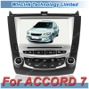 8 Inch 2 Din Touch Screen Auto Radio Car DVD for Honda Accord 7 with TV Bluetooth GPS Navigation
