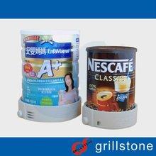 AM EAS powder milk can tag infant milk powder tin cans