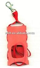 professional fashion gifts (Mobile Phone Straps, bluetooth, Lanyard) pvc toy lanyard