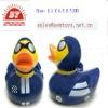 vinyl race car duck