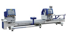 Windows and Doors Profile Processing Machine-Double Mitre Precision Saw Machine