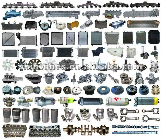 Engine Parts for Truck Isuzu Hino Nissan UD Mitsubishi Fuso Mercedes Benz Volvo Scania, View oil ...