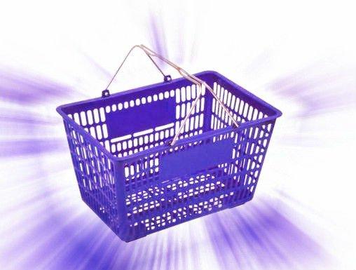 Plastic Grocery Plastic Grocery Basket