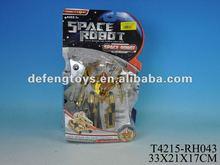 electric trans robot toy car