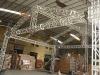 aluminum roof truss system