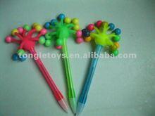Fluffy Pen /Flashing Gift Pen With Cap
