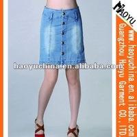 Hot sales fashion dress blue jeans (HY4307)