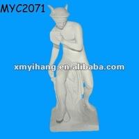 Unpainted figurine bisque ceramic
