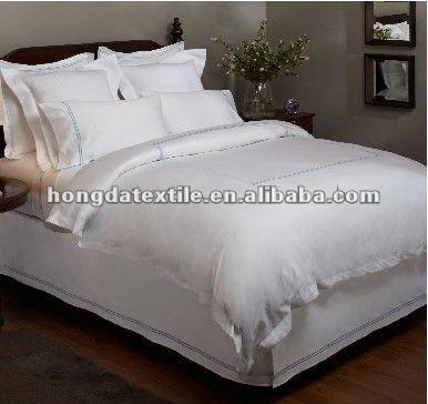 pur satin de coton gyptien housse de couette king size housse de couette id. Black Bedroom Furniture Sets. Home Design Ideas