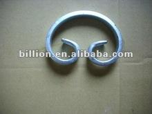 zine coated decorative ornamental iron curl of band iron