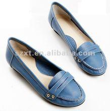 2012 Hot sell!! ladies casual PU shoes/lady fashio flats shoes XT-SF327