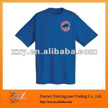 Cotton Baby T-shirt in Blue Color, with Printed Design in Front