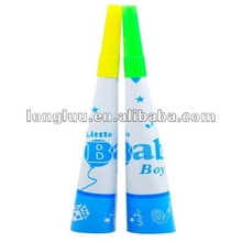 Promotional paper horn, noise makers for kids' party favors