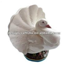 de cerámica de aves decorativo jarrón de flores