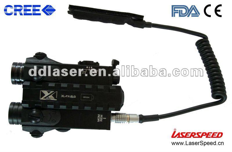Compact Tactical Light Laser Sight Combo; Red Laser Gun Light Combo, riflescope
