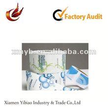 2012 self adhesive non-toxic pvc printed label