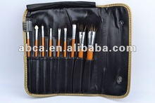 9 pcs 2012 best seller japan cosmetic brushes