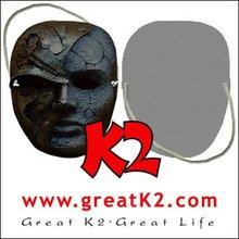 Customized wholesale masquerade mask( customized image, see through)