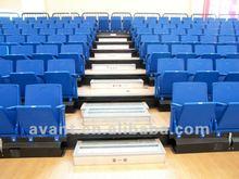 professional desgin arena sports multifunction telescopic university sea,stand for indoor basketball,badminton multi-purpose use