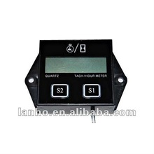 12V Hour Meter Tachometer for Suzuki Kawasaki Yamaha Harley LCD Digital display