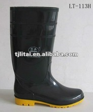 pvc safety working boots