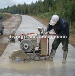 Hot sell gasonline engine asphalt concrete road cutting saw