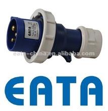 IP67 IEC/CEE WATERPROOF INDUSTRIAL POWER PLUG 3P 3PIN 16A 220V 013