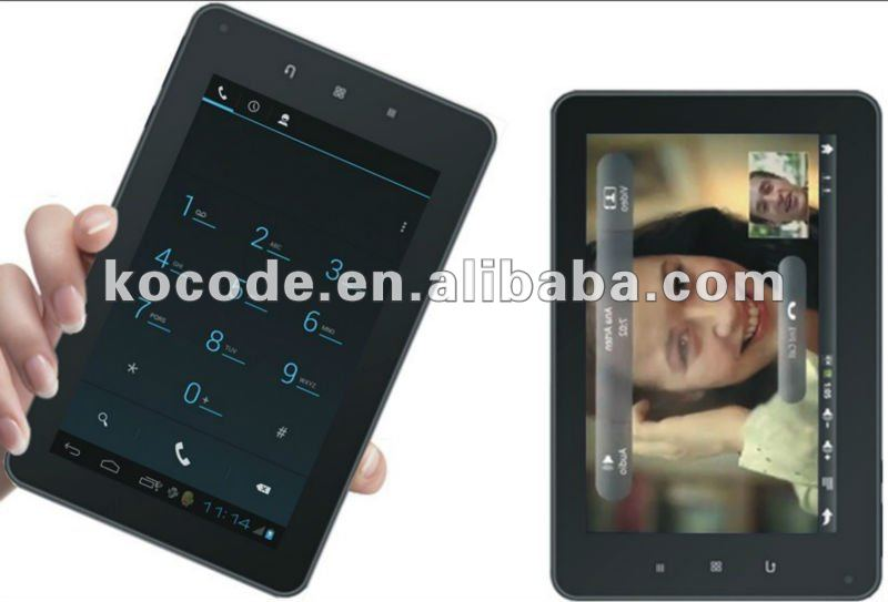 tableta 3G, wifi, bluetooth de 7 pulgadas