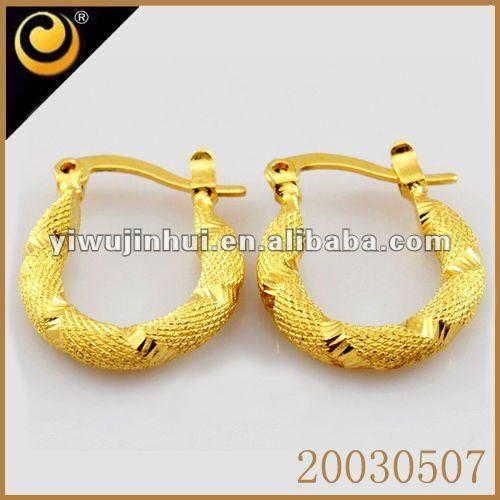 Gold earrings dubai souk