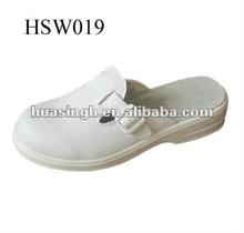 Slip-on No Heel White Fashion Women Sandals