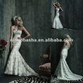Splendido tre - dimensionale elementi di design di creare questo splendido abito da sposa