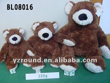 different brown bear soft bear plush bear
