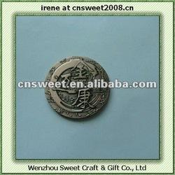 Custom Antique Copper Color metal Label