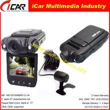 2012 Hot Model: DVR8010, 2ch AV IN G-sensor Dual lens in car video recording system