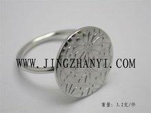 2012 top quality silver ring---custom design
