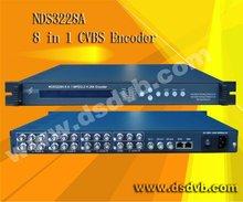 8channel cable tv digital Encoder