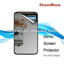 Reflective Mirror Screen Protector for HTC Inspire with Cleaning Cloth