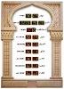 muslim LED clock(HY-D1088)