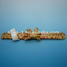 animal slap bracelet,silicone rubber band,glowing slap band